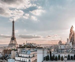 paris, building, and city image