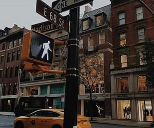 city, autumn, and nyc image