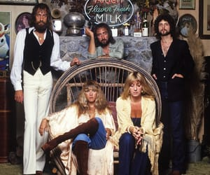 fleetwood mac, lindsEy buckingham, and stevie nicks image