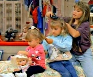 full house, girls, and hair image