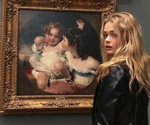 girl, beauty, and art image