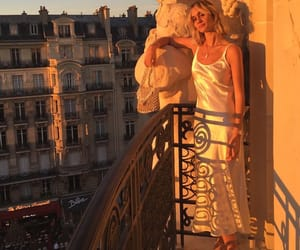 golden hour and paris image