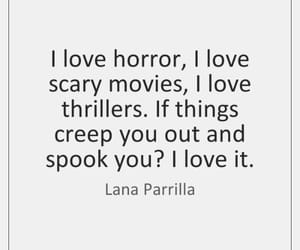 creepy, horror, and movies image