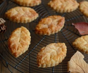 Cookies, autumn, and leaves image