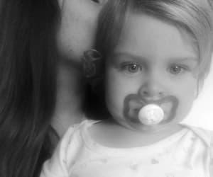 baby, child, and white image