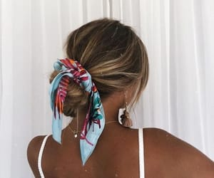 accessory, hair, and short image