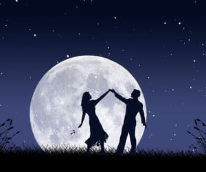 beauty, moonlight, and dance image