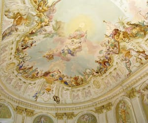 18th century, ceiling, and pastel image