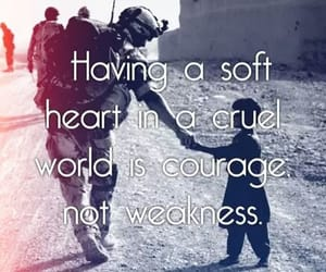 brave, courage, and heart image