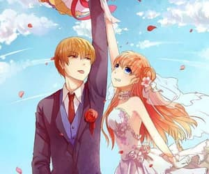 anime, bride, and fanart image