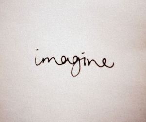 imagine, text, and cute image