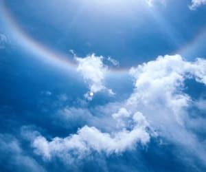 arcoiris, sky, and azul image