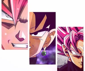 black, goku black, and dbs image