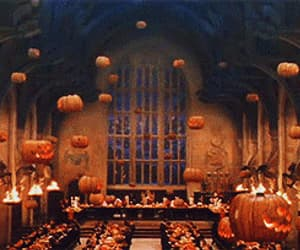 autumn, harry potter, and pumpkins image