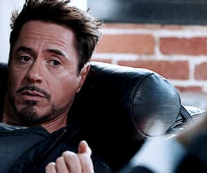 gif, Marvel, and iron man image