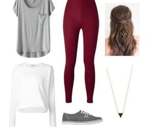 hair, look, and outfit image