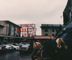 aesthetic, market, and moody image