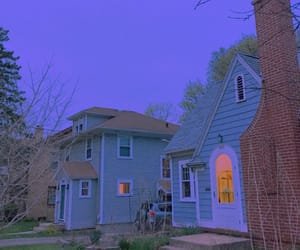 house, grunge, and blue image