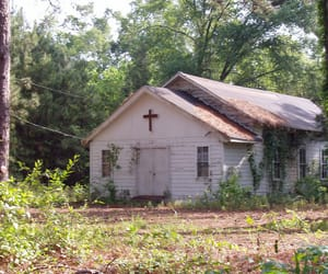 archive, church, and decay image