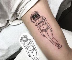 tattoo, nasa, and ink image