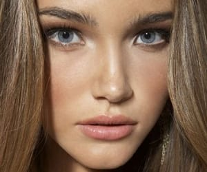 beauty, brunette, and cosmetics image