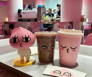 cute, aesthetic, and drink image