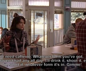 gilmore girls and coffee image