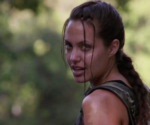 Angelina Jolie, movies, and tomb raider image