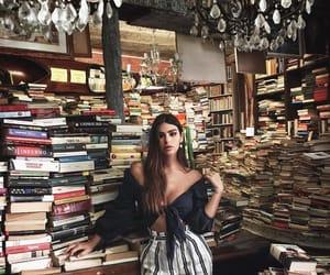 books, fashion, and girl image
