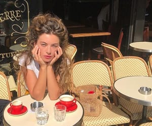 cafe, fashion, and french image