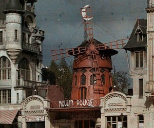 moulin rouge, paris, and france image