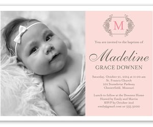 Baptism, invitation, and cards image