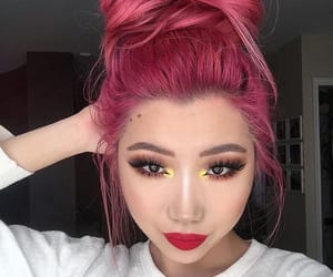 colored, coke, and colored hair image