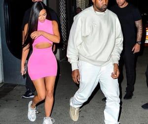 kim kardashian and kanhe image