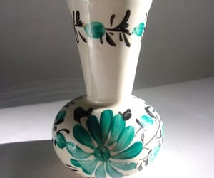 shabby chic, artisan made, and vintage vase image