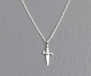 charm, delicate, and necklace image