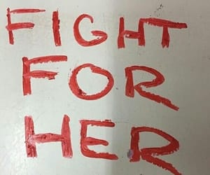 quotes, fight, and red image