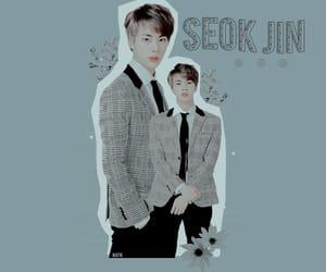 jin, kpop, and edits image