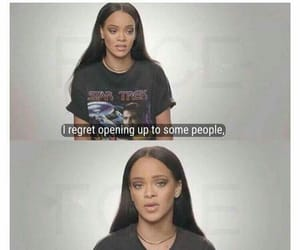 rihanna, quotes, and facts image