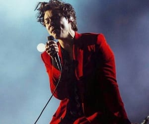 Harry Styles, gucci, and red image