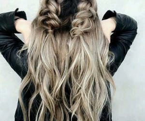 hairstyle, hair, and braid image
