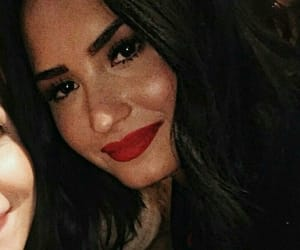 demi lovato, icon, and layout image