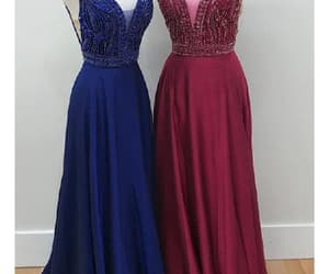 prom dress, plus size prom dress, and backless prom dress image
