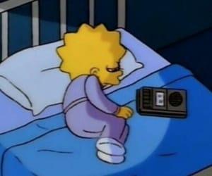 lisa, sad, and cartoon image