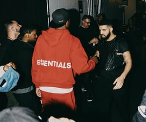 Drake, champagnepapi, and red image