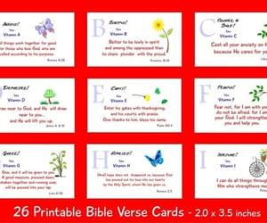 inspirational, scriptures, and printable art image