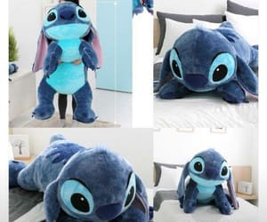 blue, stitch, and disney image