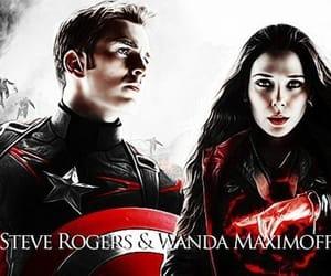 Avengers, wanda maximoff, and scarlett witch image