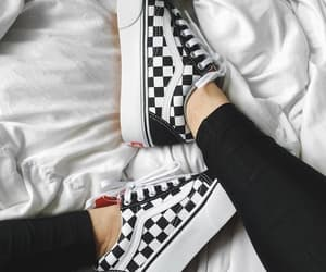 shoes, vans, and black image