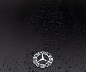 benz, black, and Logo image